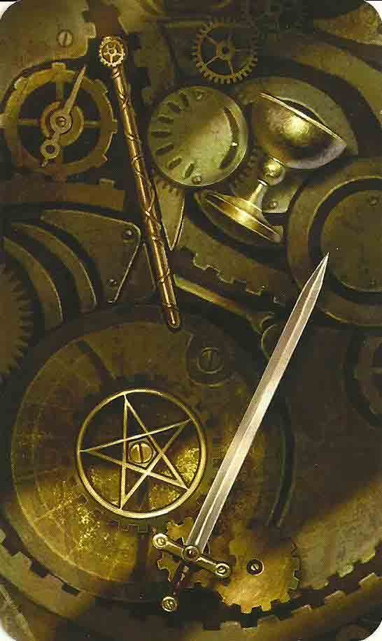 The Deck and Book Nook – The Steampunk Tarot