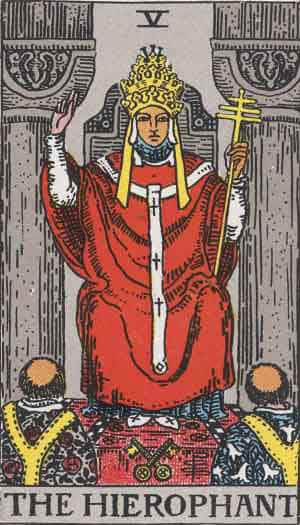 Tarot Card by Card: The Hierophant - Tarot Card Meanings