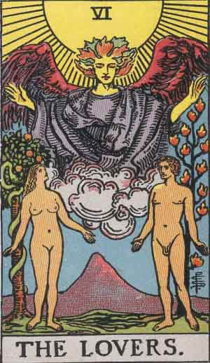 Tarot Card by Card: The Lovers - Tarot Card Meanings