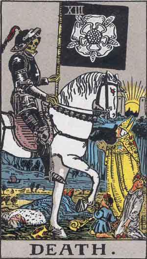 Tarot Card by Card: Death - Tarot Card Meanings