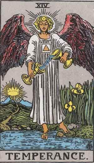 Tarot Card by Card: Temperance - Tarot card meanings