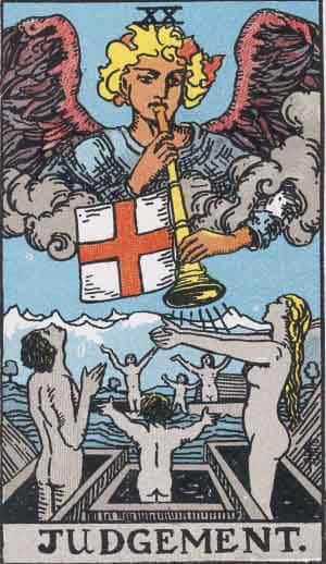 Judgement - Tarot Card Meanings - Tarot Card by Card