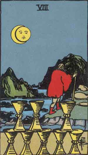 Eight of Cups - Tarot Card Meanings - Tarot Card by Card