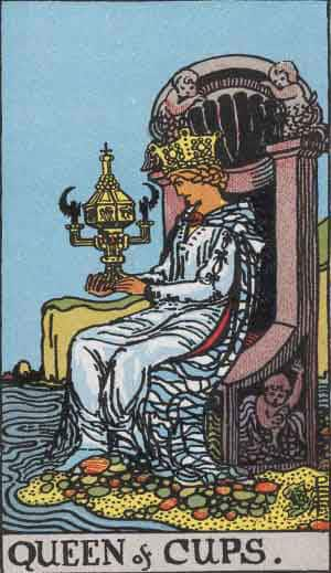 Tarot Card by Card: Queen of Cups - Tarot Card Meanings