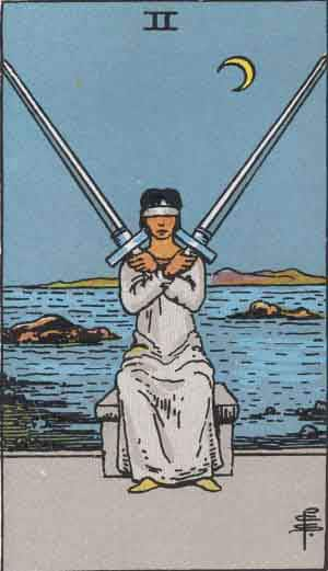 Two of Swords - Tarot Card Meanings