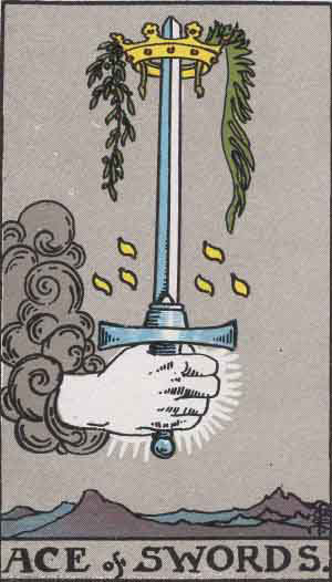 Ace of Swords - Tarot Card Meanings