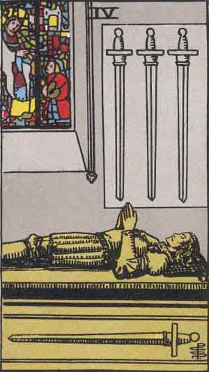 Four of Swords - Tarot Card Meanings