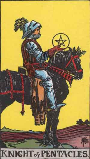 Tarot Card by Card – Knight of Pentacles