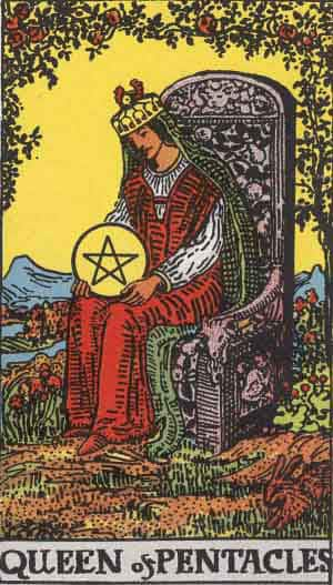Tarot Card by Card – Queen of Pentacles