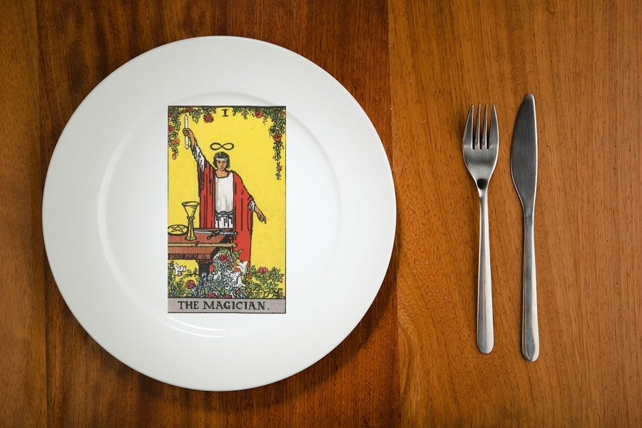 tarot by the mouthful the magician