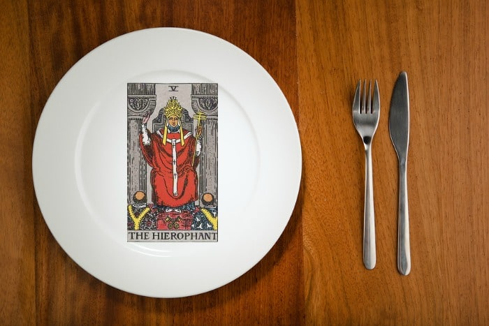 Tarot by the Mouthful The Hierophant