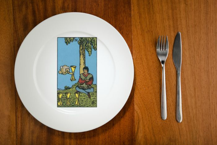 tarot by the mouthful four of cups