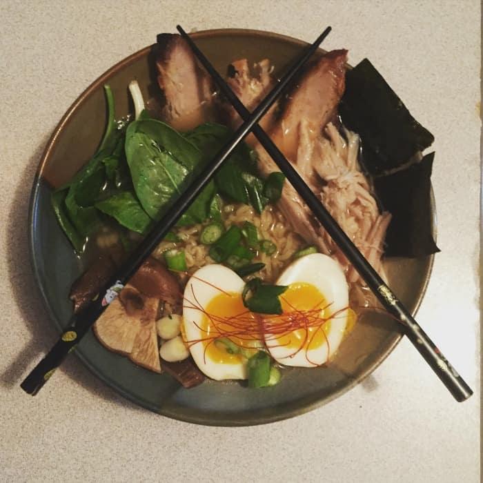 Making Momofuku Ramen at home! Like a ramen boss!