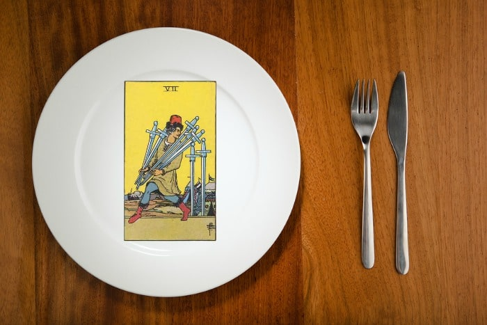 Tarot by the Mouthful - Seven of Swords