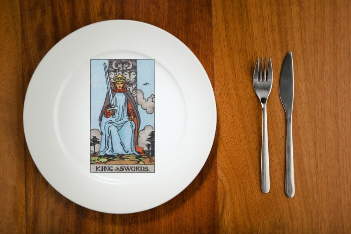 King of Swords - Tarot by the Mouthful