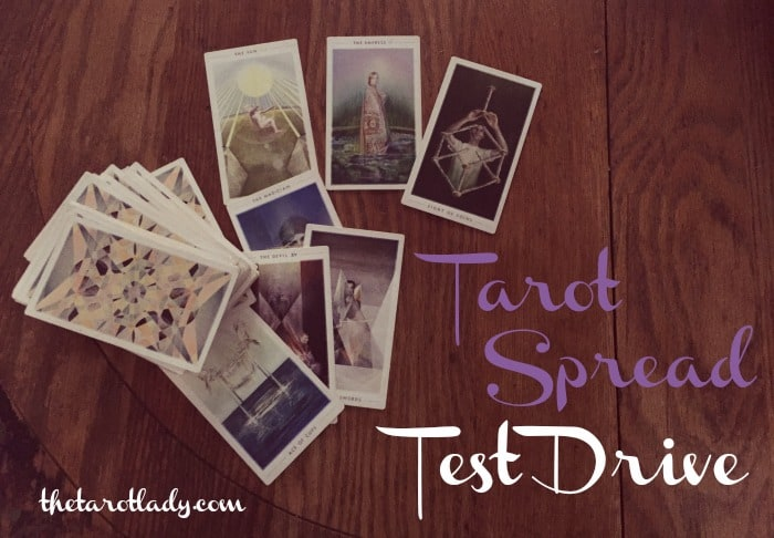 Tarot Spread Test Drive - I test out different tarot spreads every month just for you!