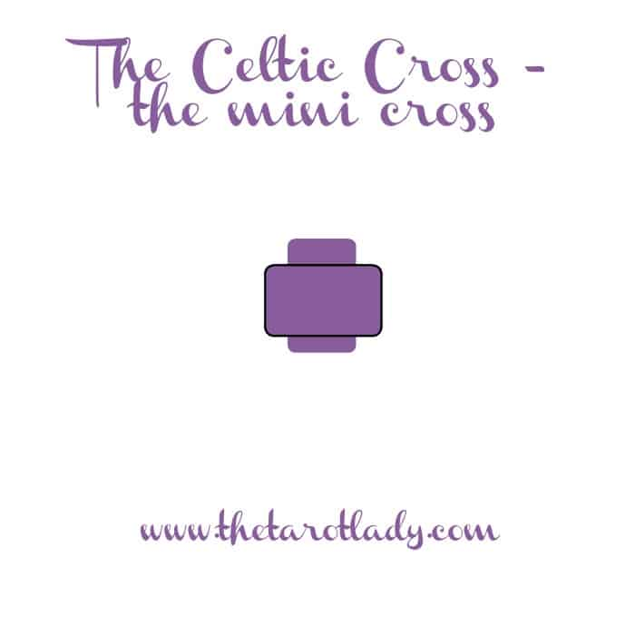 Breaking down the Celtic Cross - the mini cross