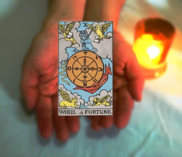 Tarot Advice - Wheel of Fortune