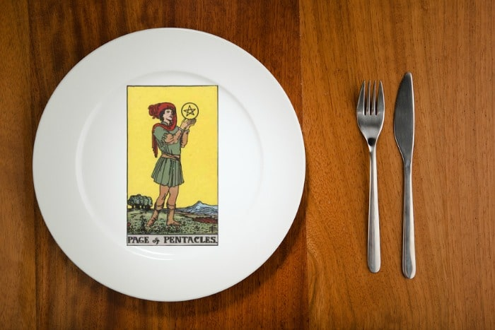 Tarot by the Mouthful - Page of Pentacles