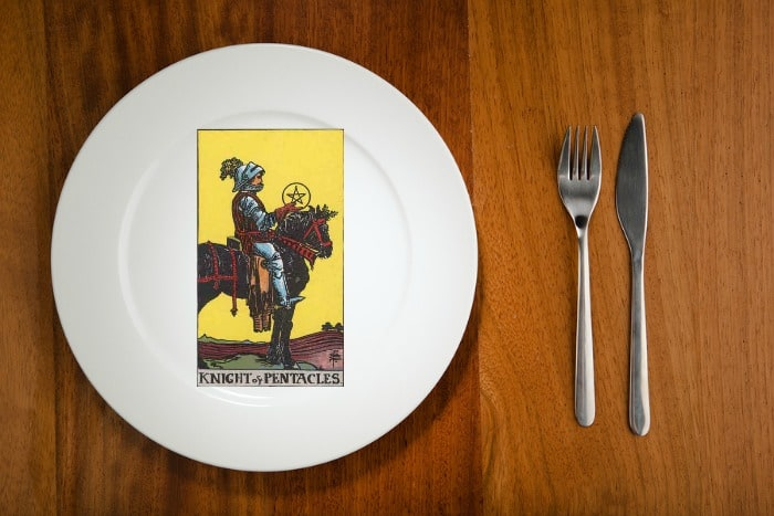 Tarot by the Mouthful – Knight of Pentacles