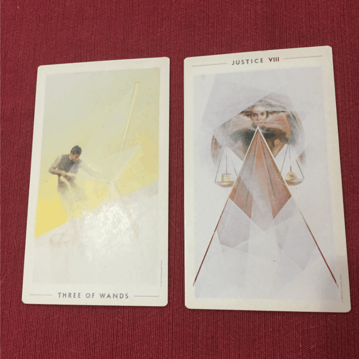 Tarot Spread Test Drive - Tarot Seed's 2 Card Bad Mood Spread