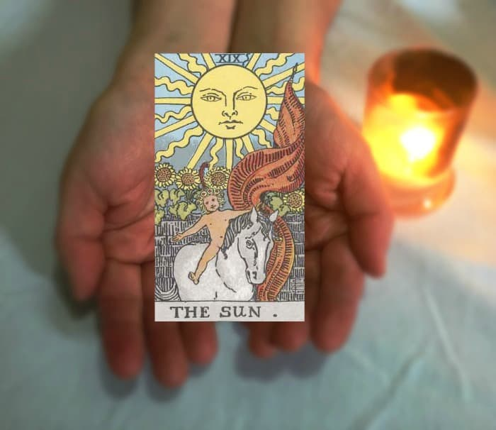 Tarot Advice - Guidance in Every Card : The Sun