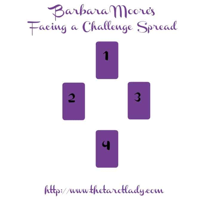 Tarot Spread Test Drive - Barbara Moore's Facing a Challenge Spread