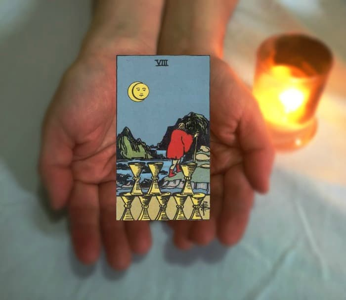 Tarot Advice - Guidance in Every Card: Eight of Cups