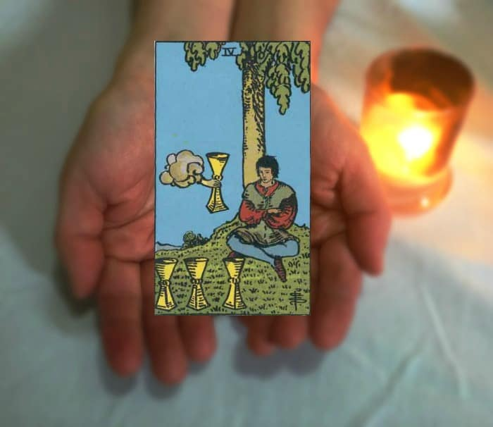 Tarot Advice - Guidance in Every Card: Four of Cups