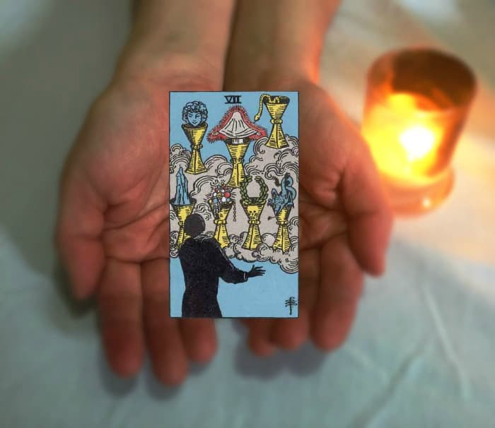 Tarot Advice - Guidance in Every Card: Seven of Cups