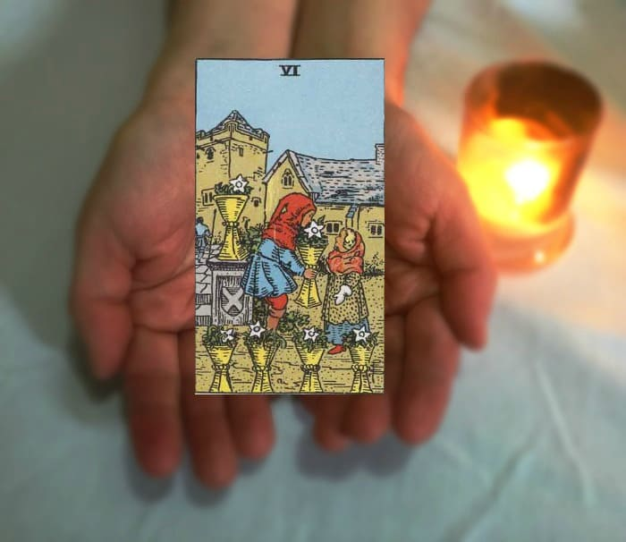 Tarot Advice - Guidance in Every Card: Six of Cups