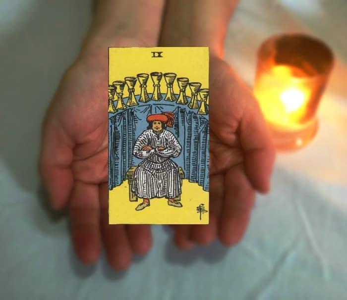 Tarot Advice - Guidance in Every Card: Nine of Cups
