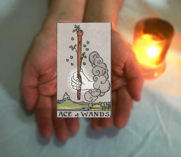 Tarot Advice - Guidance in Every Card: Ace of Wands