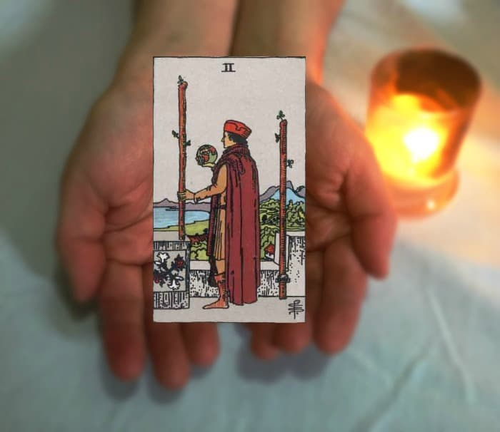 Tarot Advice - Guidance in Every Card: Two of Wands