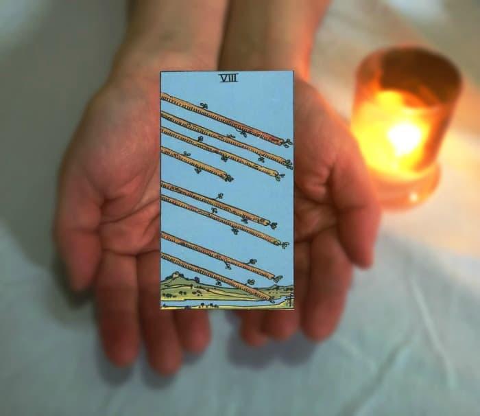Tarot Advice - Guidance in Every Card: Eight of Wands