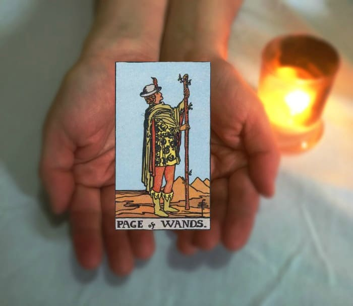 Tarot Advice - Guidance in Every Card: Page of Wands