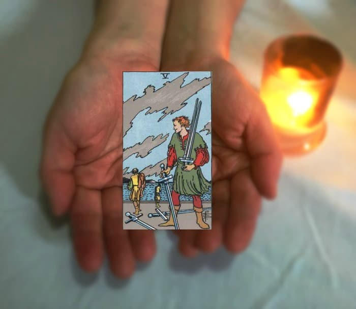 Tarot Advice - Guidance in Every Card: Five of Swords