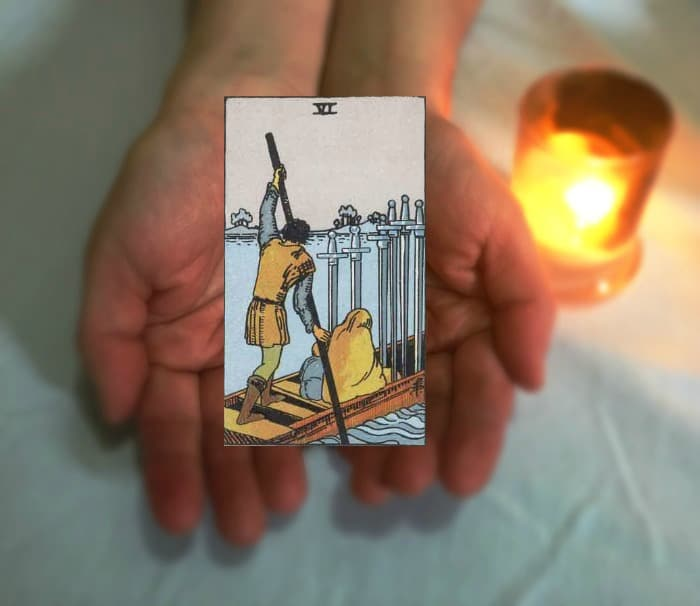 Tarot Advice - Guidance in Every Card: Six of Swords