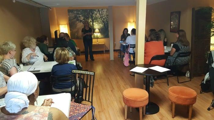 Teaching at The Boston Tea Room
