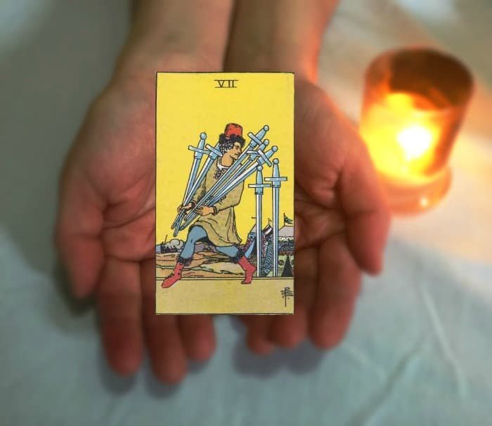 Tarot Advice - Guidance in Every Card: Seven of Swords