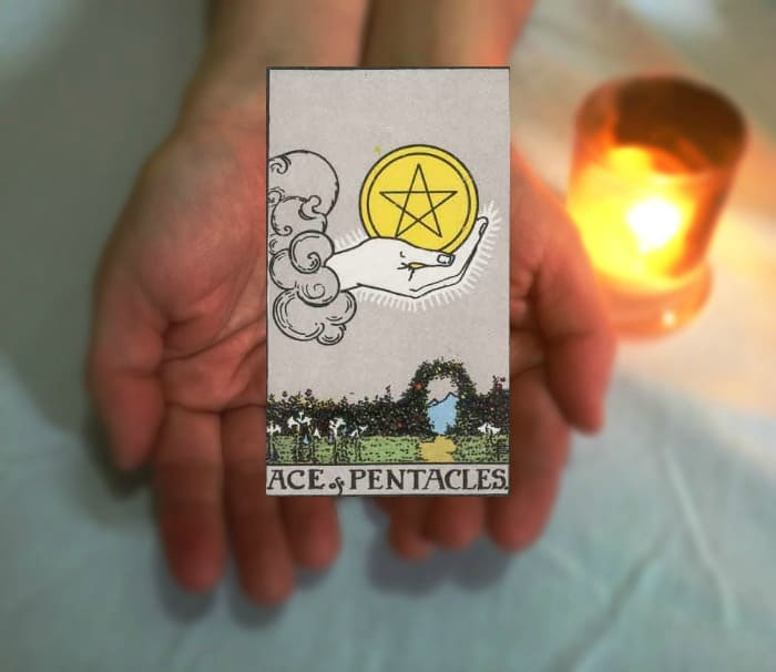Tarot Advice - Guidance in Every Card: Ace of Pentacles