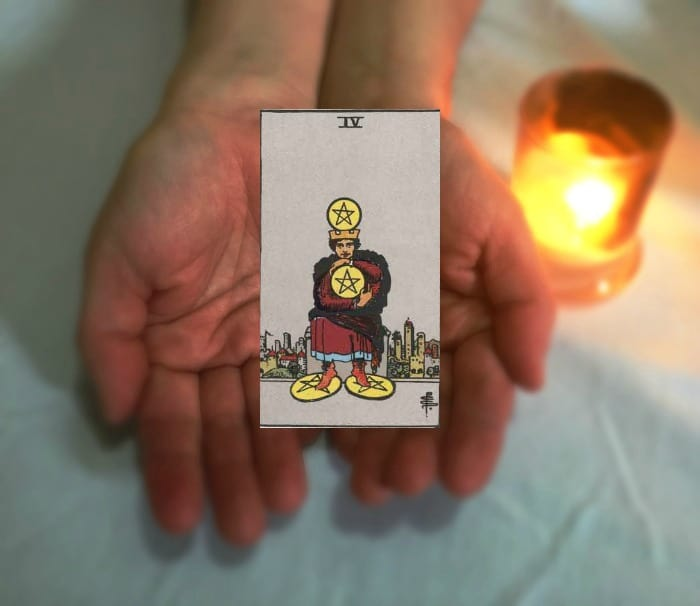 Tarot Advice - Guidance in Every Card: Four of Pentacles