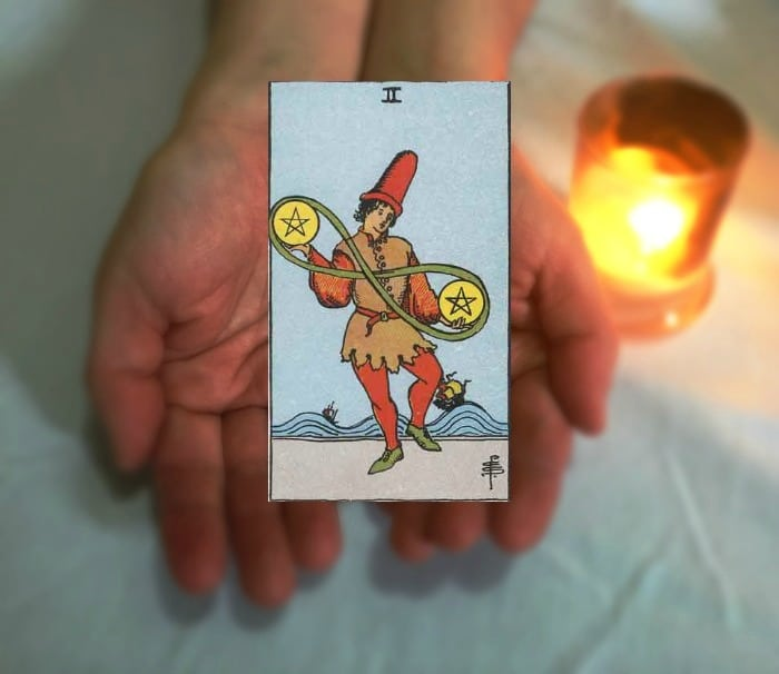 Tarot Advice - Guidance in Every Card: Two of Pentacles