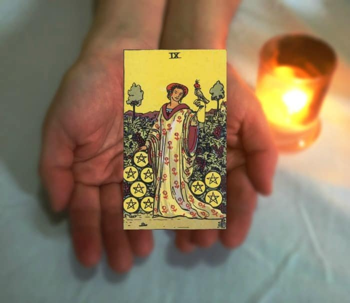 Tarot Advice - Guidance in Every Card: Nine of Pentacles