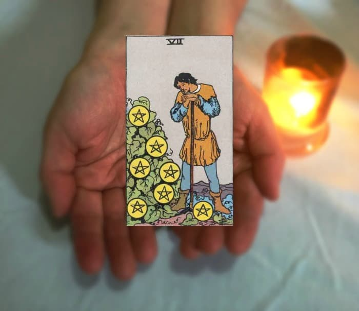 Tarot Advice – Guidance in Every Card: Seven of Pentacles