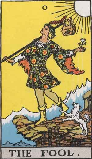 Which tarot cards indicate travel? The Fool