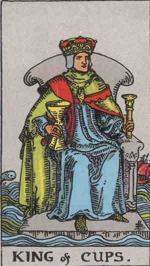 Which tarot cards indicate travel? King of Cups