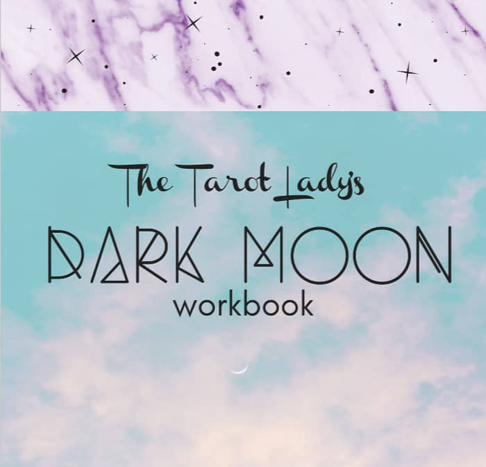 The Tarot Lady's Dark Moon Workbook