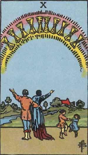 Tarot Card by Card: Ten of Cups - Tarot Card Meanings
