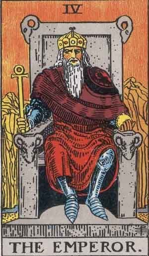 Tarot Card Meanings  - The Emperor